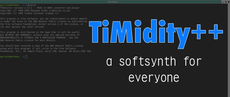 TiMidity++: The softsynth for everyone else