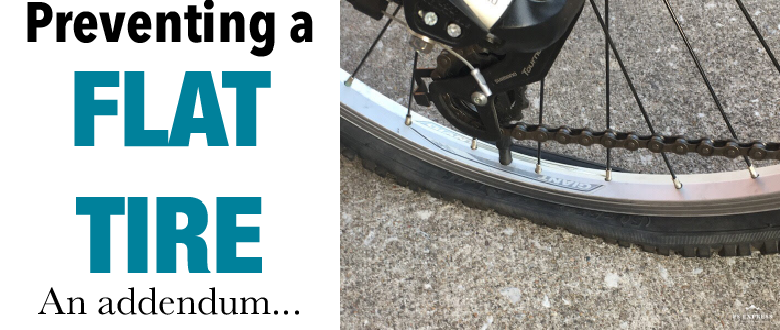 Tire Liners and other flat prevention methods