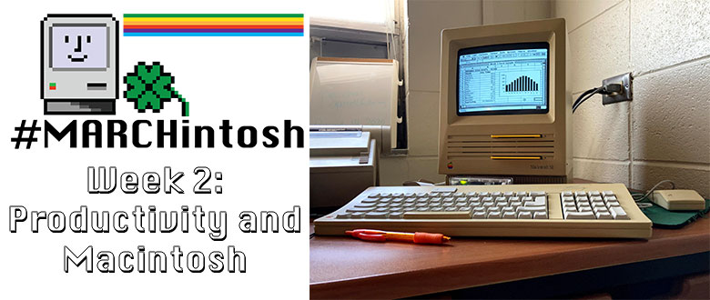 "MARCHintosh 2021: General Productivity on a ""minimal"" 1988 SE"